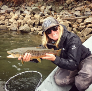 Amy Jimmerson - Fishing guide