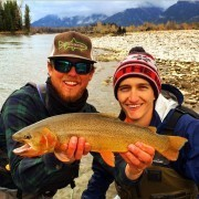Fly Fishing on Snake River
